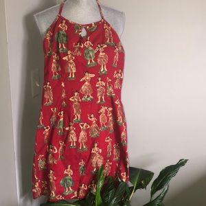 Dresses & Skirts - Aloha! Adorable hula girl dress😘🌸